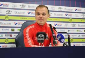 Erwin Zelazny devrait effectuer son premier match officiel sous les couleurs du Stade Malherbe Caen demain soir face au Dijon FCO en 16es de Coupe de la Ligue BKT