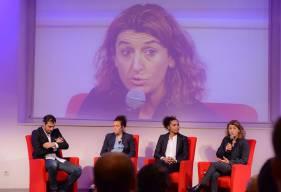 Nicolas Seube a profité de la présence de Marinette Pichon ou encore Laura Georges lors de la première édition des rencontres Malherbe pour annoncer le section féminine du Stade Malherbe