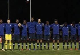 Jason Ngouabi, Destiné Jopanguy et les u16 français se sont lourdement inclinés face à l'Allemagne en match amical
