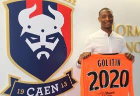 Au Stade Malherbe Caen depuis 3 saisons, Marvin Golitin vient de signer son premier contrat professionnel