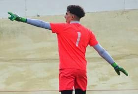 Yacine Gueddar s'est incliné à une seule reprise face à l'USL Dunkerque, en seconde période sur corner