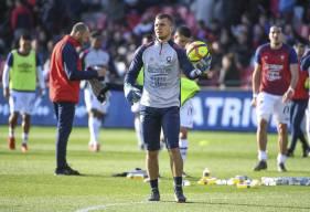 Thomas Callens gardait une nouvelle fois le but de l'équipe réserve samedi soir sur la pelouse du FC Dieppe