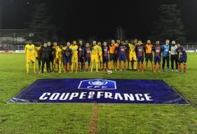 Le Stade Malherbe affrontait le petit poucet de la Coupe de France à l'occasion des 16es de finale de la compétition