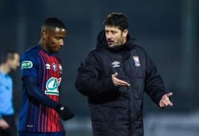 Aligné hier face au Red Star, Claudio Beauvue s'était créé la meilleur occasion avant l'ouverture du score de Yacine Bammou