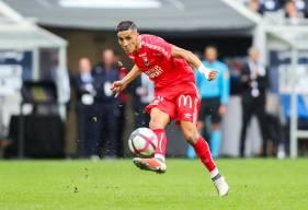 Fayçal Fajr a pu faire profiter les supporters de son aisance technique depuis le début de saison