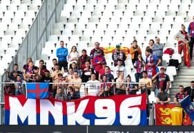 Entre 75 et 100 supporters du Stade Malherbe sont attendus pour soutenir les caennais sur la pelouse du Angers SCO