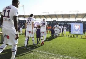 Casimir Ninga et le Stade Malherbe ont ramené un point de leur déplacement sur la pelouse du Stadium