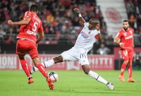 Le Stade Malherbe Caen a obtenu sa seule victoire à l'extérieur cette saison sur la pelouse du Dijon FCO (0-2) début septembre