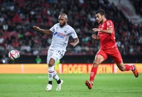 Baïssama Sankoh et les caennais ont décroché leur seule victoire la saison à l'extérieur sur la pelouse du Dijon FCO cette saison
