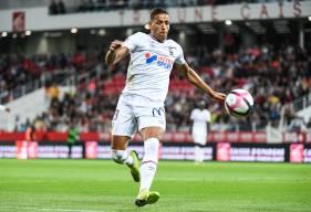 Yacine Bammou et les attaquants caennais tenteront de tromper la défense strasbourgeoise qui a encaissé au moins un but à domicle sur 12 de ses 13 derniers matchs