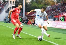 Fayçal Fajr et le Stade Malherbe tenteront d'accéder aux 8es de la Coupe de la Ligue BKT ce soir sur la pelouse du Dijon FCO