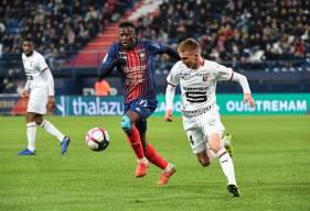 Le Stade Malherbe Caen méritait mieux lors du match aller face au Stade Rennais sur la pelouse de d'Ornano