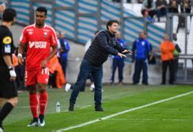 Fabien Mercadal a regretté le manque de maîtrise de son équipe en première période alors que les caennais ont montré un tout autre visage en deuxième mi-temps