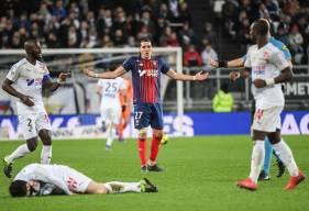 Enzo Crivelli et le Stade Malherbe concèdent un quatrième revers en autant de matchs ce soir sur la pelouse de La Licorne