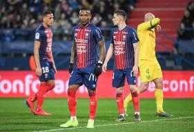 Face au FC Nantes, Claudio Beauvue a disputé son 250e match en France (125 en Ligue 1 Conforama et 125 en Domino's Ligue 2)