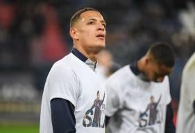 De nombreux hommages à Émiliano Sala hier soir à d'Ornano lors de la rencontre face au FC Nantes