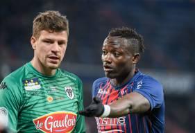 Ludovic Butelle s'est montré décisif devant Saïf Khaoui en première période avant de passer une deuxième mi-temps plus calme
