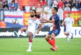 Titularisé au milieu de terrain, Saïf-Eddine Khaoui a disputé son premier match avec le Stade Malherbe Caen en Ligue 1 Conforama cette saison