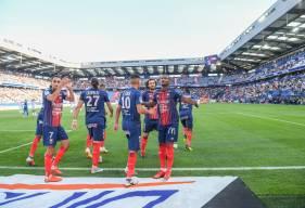 Claudio Beauvue a inscrit son deuxième but samedi face à l'Olympique Lyonnais, son ancien club