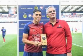 Avec 62% des votes, le milieu de terrain Fayçal Fajr est élu joueur du mois Kunkel pour la 3ème fois de la saison