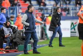 Fabien Mercadal et les caennais ont obtenu leur premier point de 2019 après le match nul face au RC Strasbourg