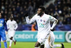 Malik Tchokounté avait ouvert le score en début de rencontre pour le Stade Malherbe et a offert la qualification en inscrivant le dernier tir au but caennais
