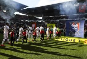 Le Stade Malherbe Caen a réussi à poser des problèmes aux joueurs du Stade Rennais jusqu'au carton rouge de Yoël Armougom