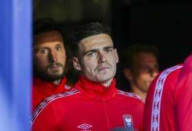 La détermination dans les yeux de Jessy Deminguet et Paul Baysse avant d'affronter le Montpellier HSC hier soir