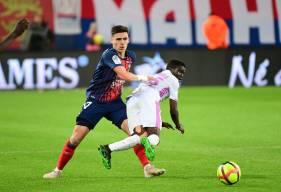 Jessy Deminguet s'est une nouvelle fois montré à son aise au milieu de terrain face au Stade de Reims samedi soir