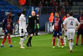 Antony Gautier avait accordé logiquement un penalty au Stade Malherbe Caen en fin de rencontre face au Toulouse FC