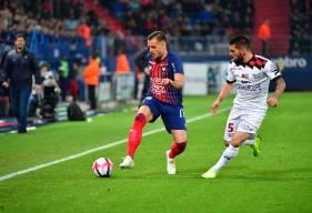 Titulaire samedi, Jonathan Gradit a disputé son premier match en Ligue 1 Conforama avec le Stade Malherbe Caen