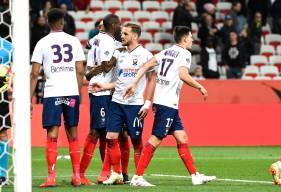 Les joueurs du Stade Malherbe Caen ont su se montrer solidaires face à l'OGC Nice pour obtenir les trois points