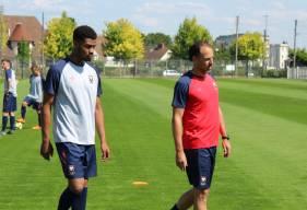 Stéphane Nado présent au quotidien auprès des joueurs du centre de formation pour suivre leurs évolutions