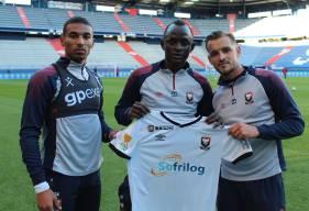 Alexander Djiku, Adama Mbengue, Jonathan Gradit et les caennais porteront un maillot unique pour le 16es de Coupe de Ligue BKT face au Dijon FCO