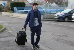 Formé au Stade Malherbe Caen, Jad Mouaddib a pris le départ pour la mise au vert avec le groupe professionnel avant de disputer le 16e de Coupe de France demain en fin de journée