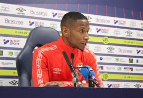 Claudio Beauvue était présent en conférence de presse avant de se rendre au Groupama Stadium qu'il a déjà connu avec l'OL