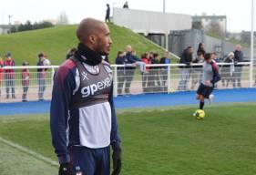 Emmanuel Imorou était bien présent ce mardi matin lors de l'entraînement, le latéral gauche caennais vient d'enchaîner trois matchs en Ligue 1 Conforama