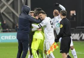 Après avoir stoppé 3 tirs au but messins, Brice Samba avait grandement participé à la qualification du Stade Malherbe Caen pour les quarts de la Coupe de France la saison dernière