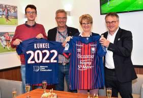 Plus ancien partenaire maillot du Stade Malherbe Caen, l'entreprise Künkel a prolongé son engagement jusqu'en 2022