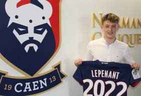 Capitaine des U17 Nationaux depuis le début de saison, Johann Lepenant vient de signer son premier contrat professionnel avec le Stade Malherbe Caen