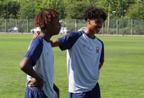 Pierrick Mouniama et Jason Bahamboula ont participé à la victoire (2-4) avec les U19 Nationaux sur le terrain du RC Lens hier après-midi