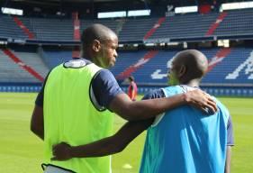 Comme la semaine dernière, le Stade Malherbe va effectuer une séance à huis-clos vendredi sur la pelouse de d'Ornano