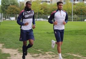 Prince Oniangué et Younn Zahary se sont contentés d'un footing hier matin mais seront bien aptes pour la réception du Stade de Reims
