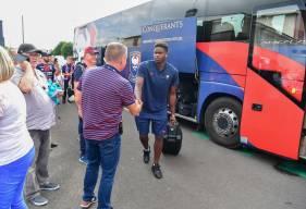 Les joueurs du Stade Malherbe se rendront à Nantes en bus et prendront le départ pour la Loire-Atlantique vendredi en fin de journée
