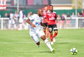 """Exclu il y a près d'un mois face à l'Olympique Lyonnais, Baïssama Sankoh fait son retour dans les """"18"""" à l'occasion de la réception de l'EA Guingamp"""