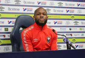 Entré mardi soir face au Toulouse FC à la place de Prince Oniangué, Baisama Sankoh s'est présenté devant la presse ce midi