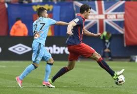 Ivan Santini avait offert le seul but au Stade Malherbe lors du lourd (1-5) revers face à l'OM il y a deux ans à d'Ornano