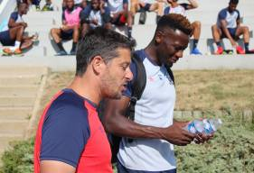Arrivé en début de semaine au Stade Malherbe, Malik Tchokounté effectuera ses débuts avec le club à la pointe de l'attaque aux cotés de Casimir Ninga et Pape Sané