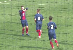 En marquant à la 62ème minute, le défenseur Thomas Chesnel a permis à son équipe de valider la victoire face au RC Lens