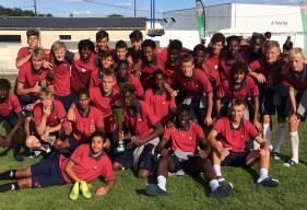 Les U17 de Matthieu Ballon vainqueurs du tournoi de Chateaubriant après 3 victoires en autant de matchs